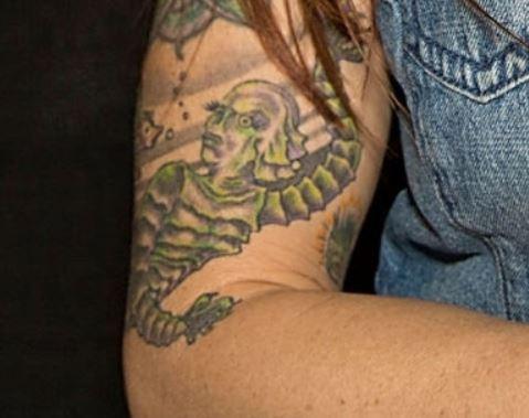 Lita right arm Tattoo