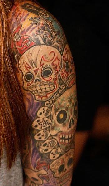 Lita skulls Ink