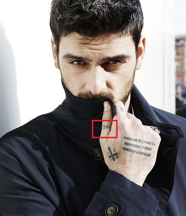 Michele Morrone-Marcus-Tattoo