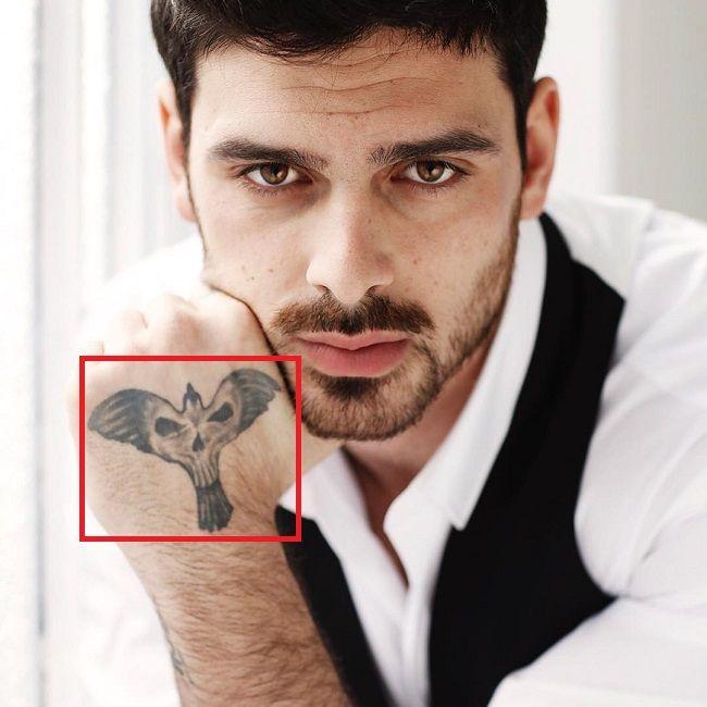 Michele Morrone-Phoenix-Tattoo