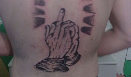 Middle Finger Design