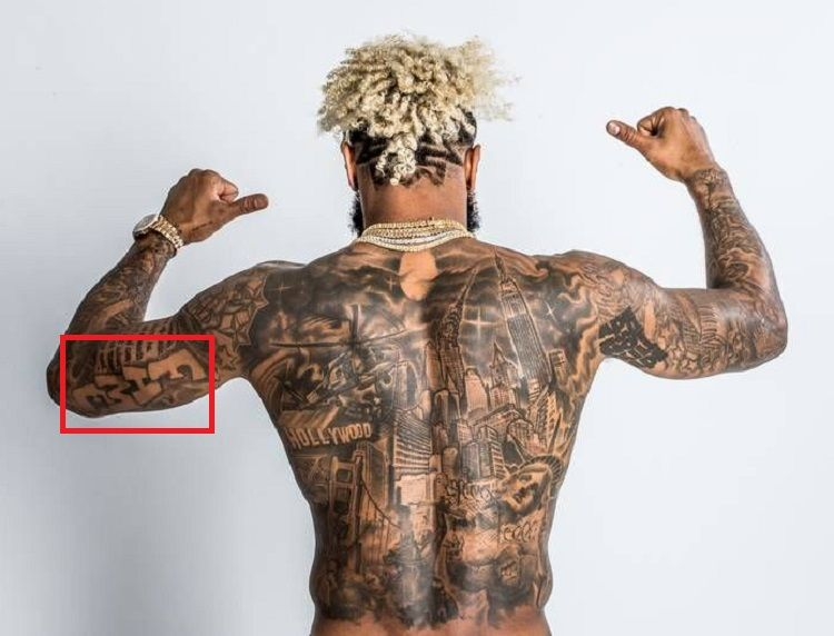 Odell Beckham Jr-FAME-Tattoo