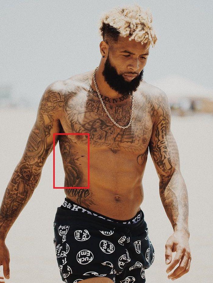 Odell Beckham Jr-Gorilla-Tattoo