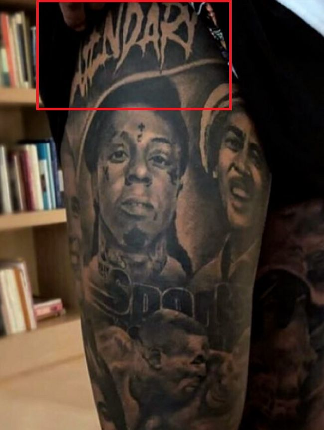 Odell Beckham Jr-LEGENDARY-Tattoo
