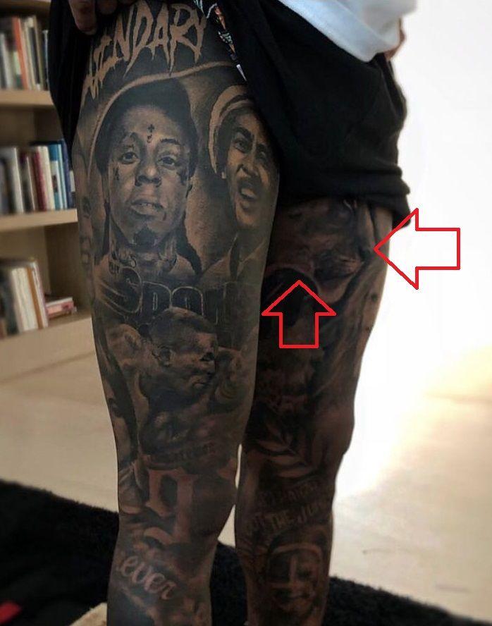 Odell Beckham Jr-Lioness-Tattoo