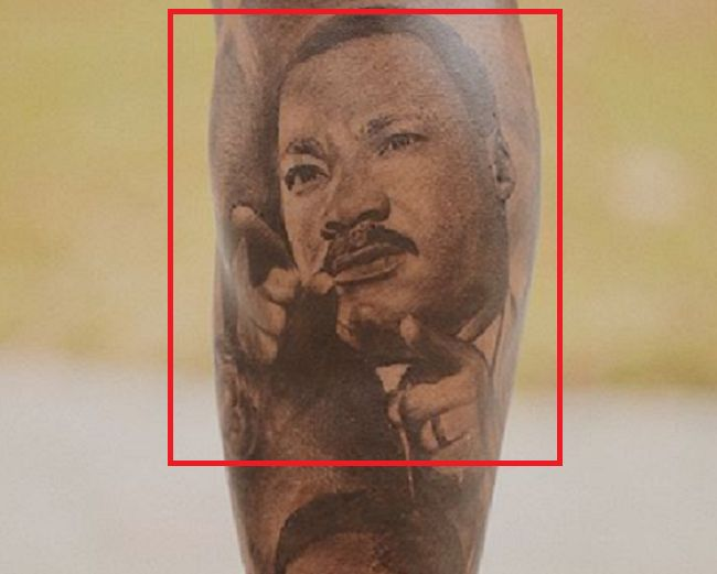 Odell Beckham Jr-Martin Luther King Jr-Tattoo