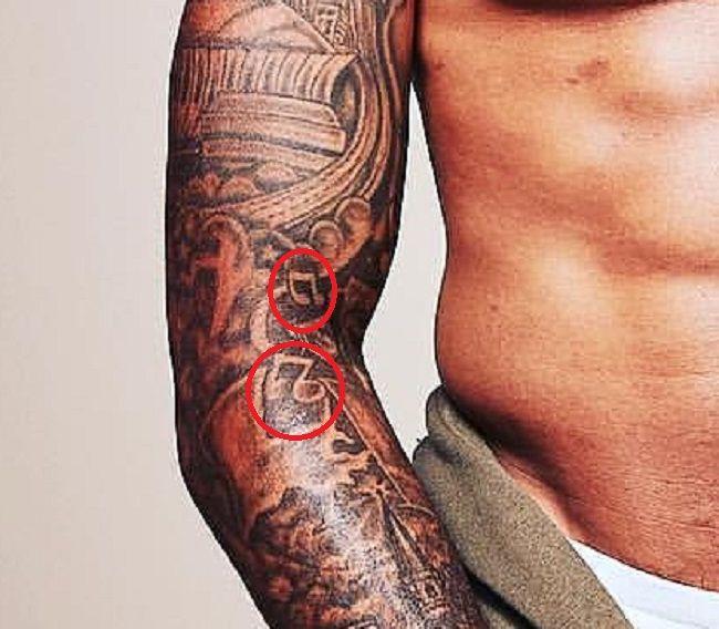 Odell Beckham Jr-MusicalNotes-Tattoo