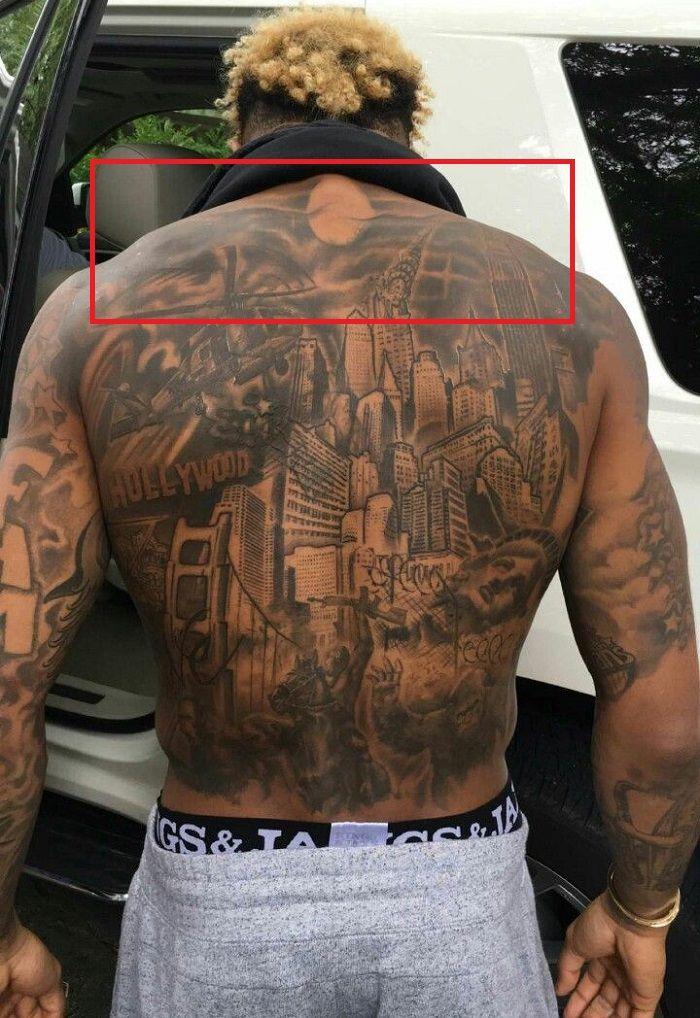 Odell Beckham Jr-Night Scene-Tattoo