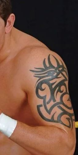 Wade tribal tattoo