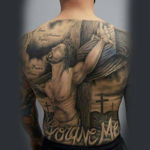Jesus Tattoo Designs