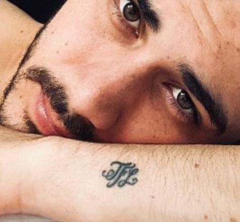Alejandro Speitzer letters tattoo