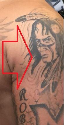 Brandon Lion Head Tattoo