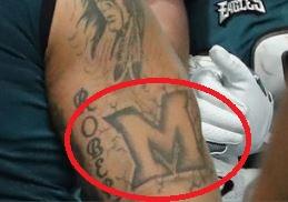Brandon M Tattoo