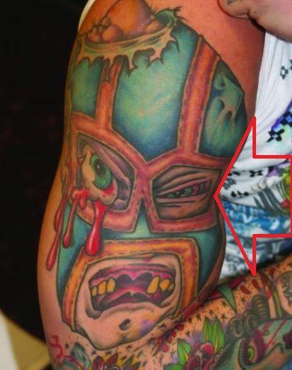Corey-Luchador-Mask-Tattoo-