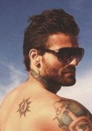 Corey back Tattoo