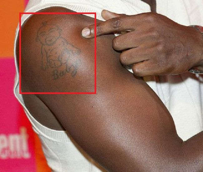 Idris Elba-Baby-Tattoo