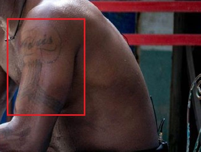 Idris Elba-Tattoo-Left Arm