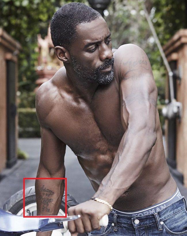 Idris Elba-Tattoo-Right-Forearm-Tattoo