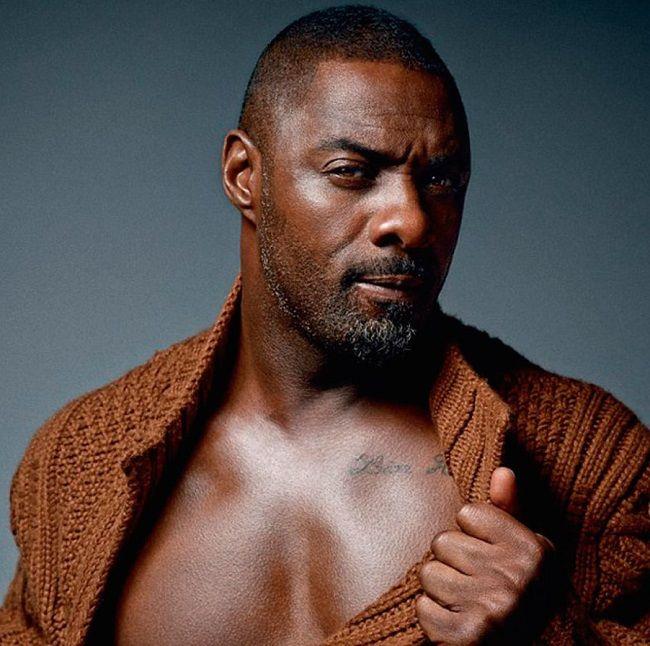 Idris Elba-Tattoos
