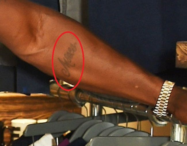Idris Elba-tattoo-Left Forearm