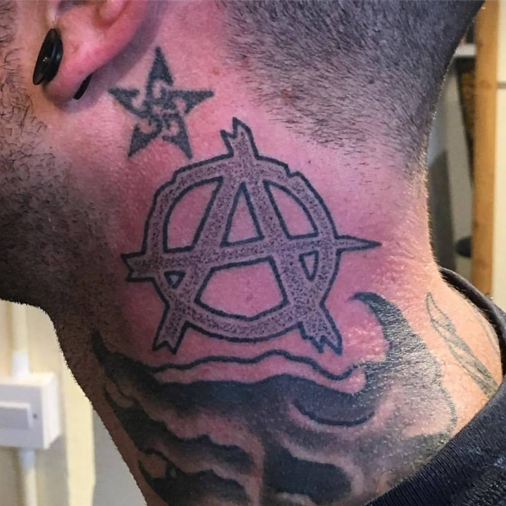 Letter A Tattoo
