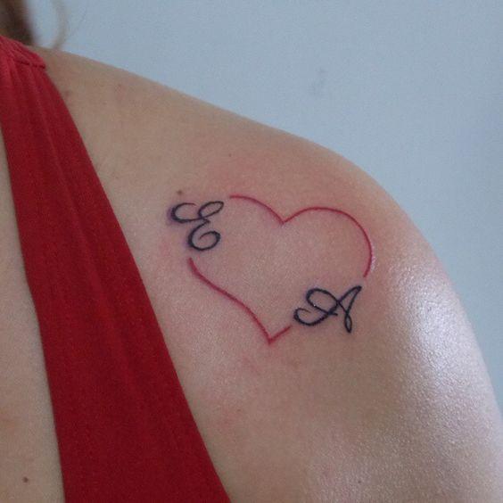 Letter E Tattoos