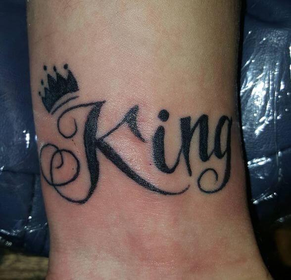 Letter K Tattoo Design