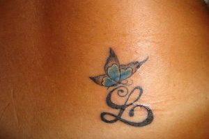 Letter L Tattoo