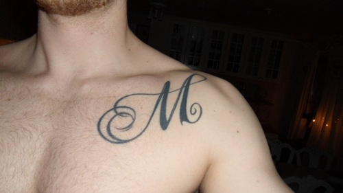 Letter M Tattoo Design