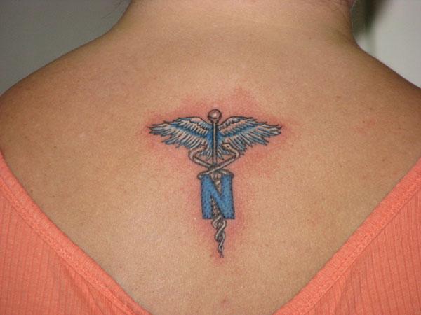 Letter N Tattoo