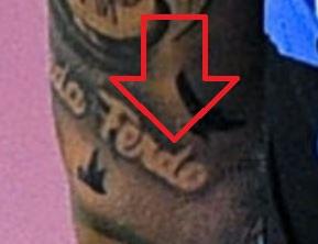 Marcelo Writing Tattoo