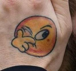 Marcelo emoji Tattoo