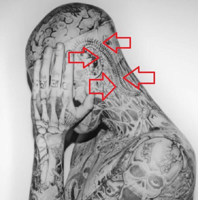 Rick Fest-Centipede-Tattoo