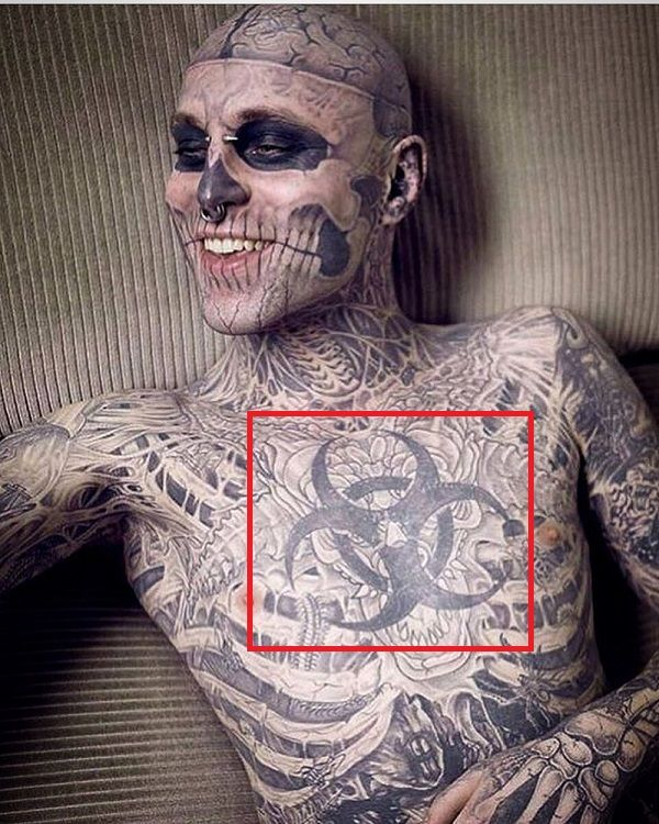 Rick Genest-Tattoo-Chest
