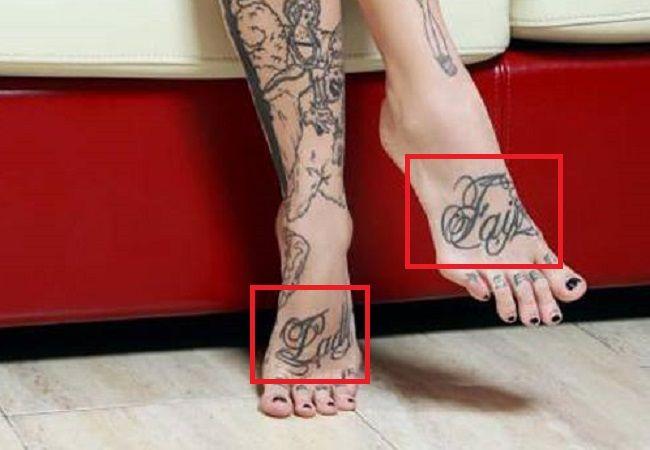 Sara Fabel-Fair Lady-Tattoo