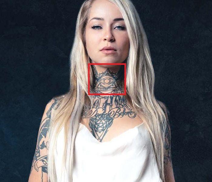 Sara Fabel-Illuminati-Tattoo