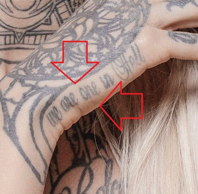 Sara Fabel-we are one in Hell-Tattoo