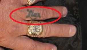 Vince Liar Tattoo