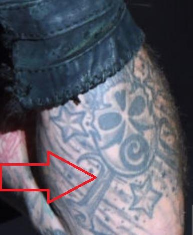 Vince Skull Mask Tattoo