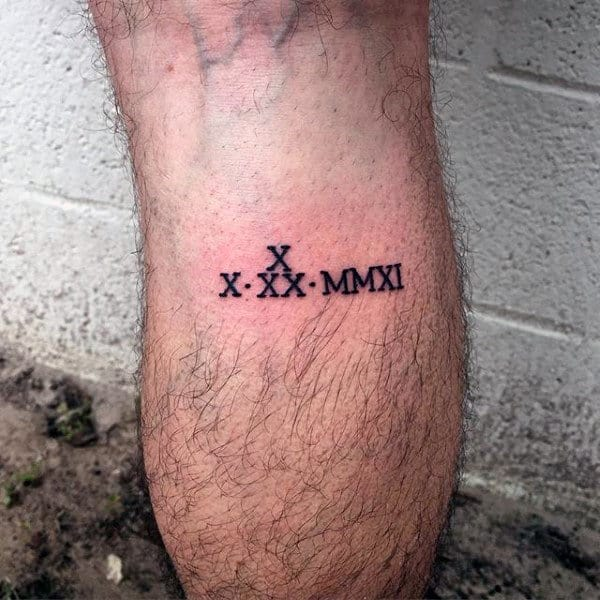 X tattoo design