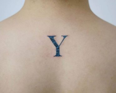 Y Letter Tattoo