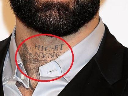Alessio neck Tattoo-