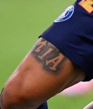 Angel Di Maria name tattoo2