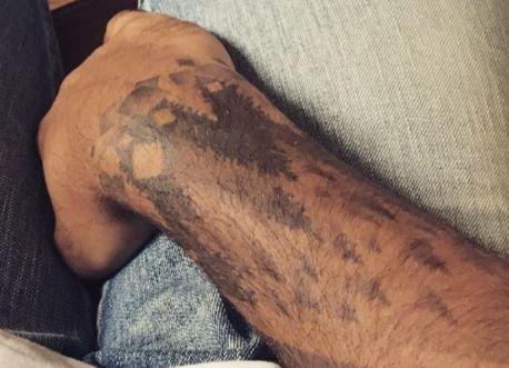 Evan Fournier trees tattoo2