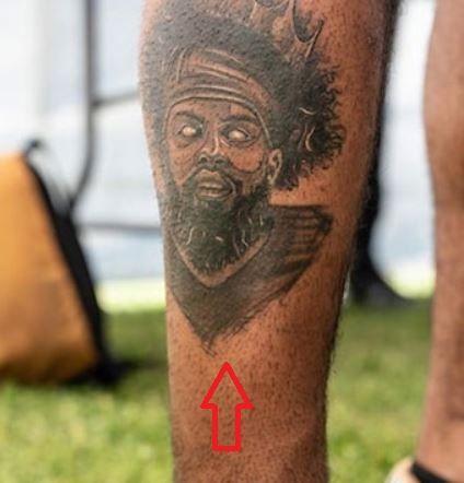 Ezekiel Elliott zombie tattoo