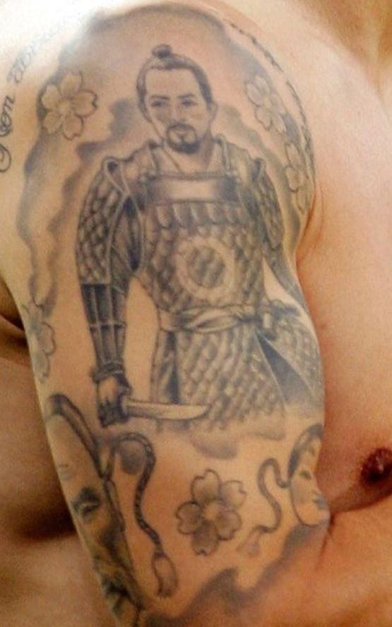 Fabio samurai Tattoo-