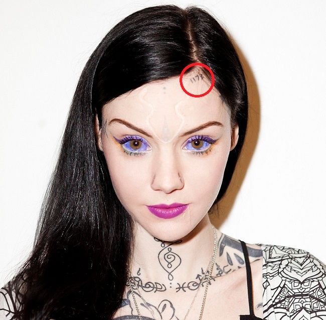 Grace Neutral U2019s 103 Tattoos U0026 Their Meanings U2013 Body Art Guru