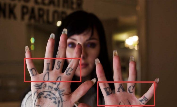 Grace Neutral-DISGRACE-Tattoo