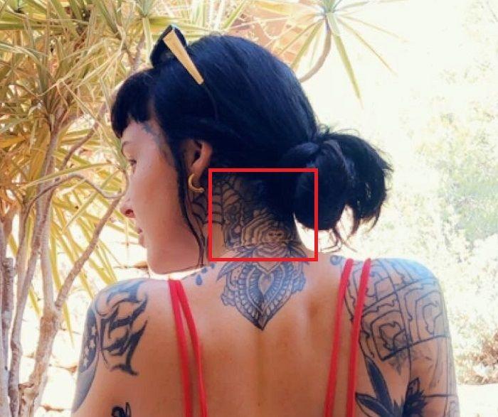 Grace Neutral-Nape-Neck-Tattoo
