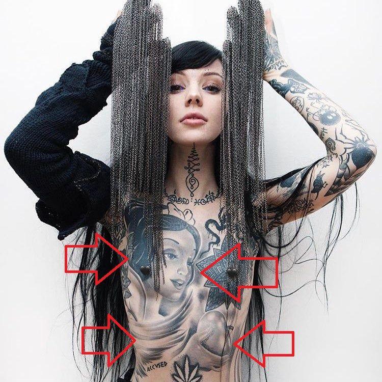 Grace Neutral-Snow White-Tattoo